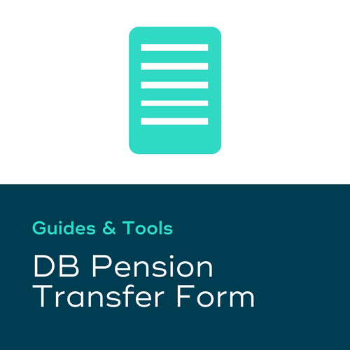 DB Pension Transfer Form