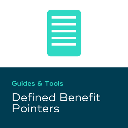 Defined Benefit Pointers