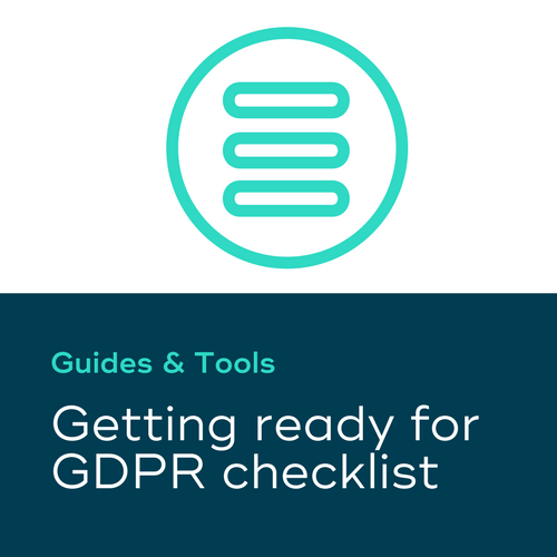 Getting ready for GDPR