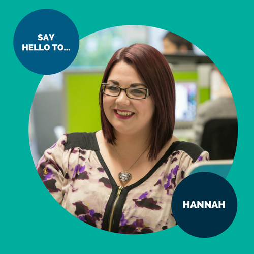 Say hello to… Hannah