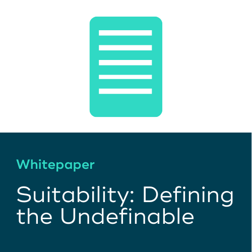 Suitability: Defining the Undefinable